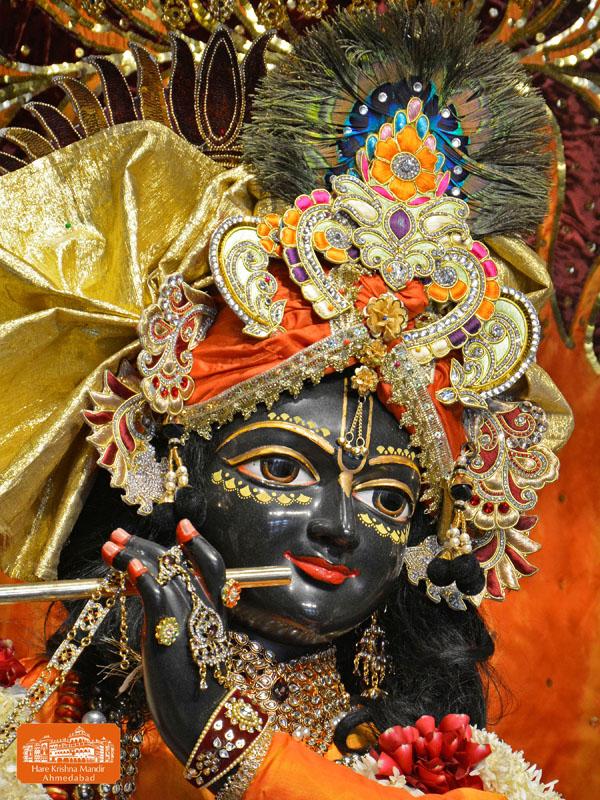 iskcon hare krishna mandir ahmedabad 22 dec 2016 deity darshan