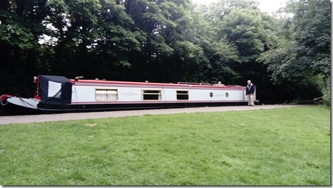 16 moored at the vale