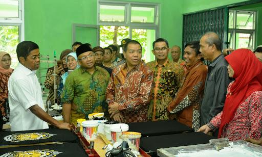 Menteri Sosial Janjikan Beri Modal, dan Titipkan Disabilitas Kepada Pemda Sukabumi