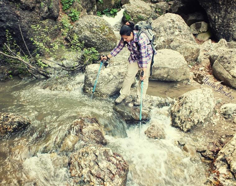 traversare apa jepii mici bucegi