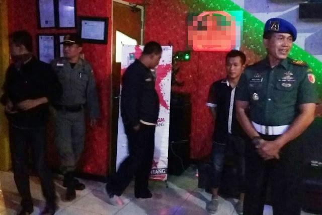 Personil TNI-Polri Ngawi Sidak Tempat Hiburan Malam