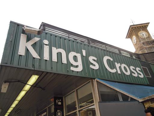 King's Cross Train Station