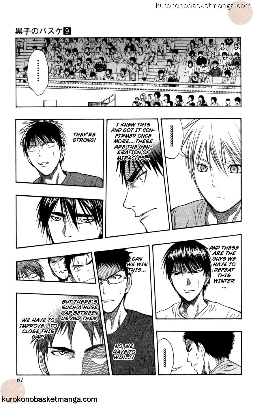 Kuroko no Basket Manga Chapter 73 - Image 15