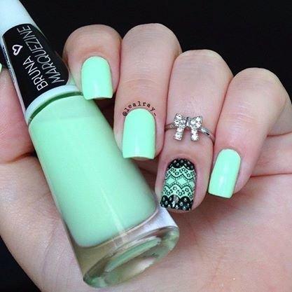 popular manicure acrylic nail ideas trend  fashion 2d