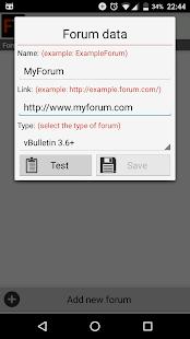 Forum Talker - náhled
