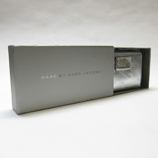 Marc by Marc Jacobs NEW Metallic Leather Wristlet