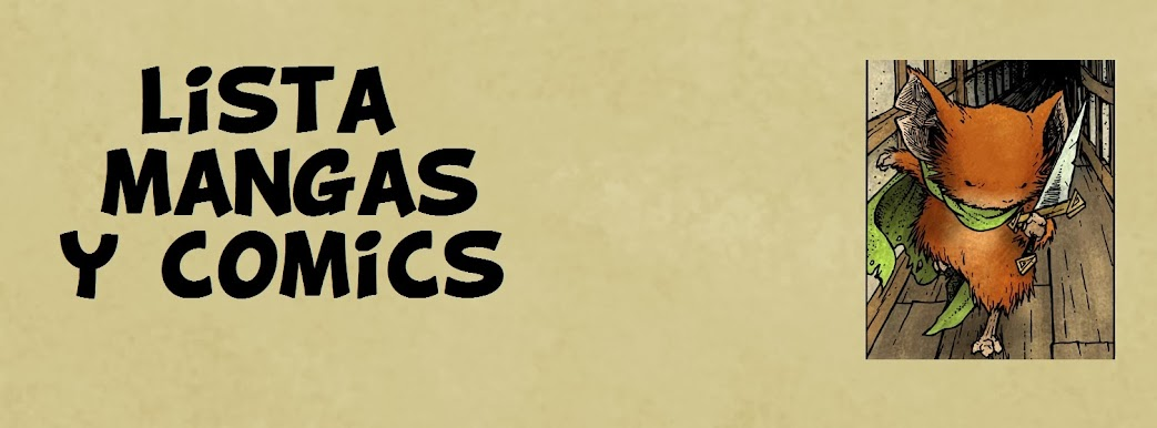 Lista mangas y comics