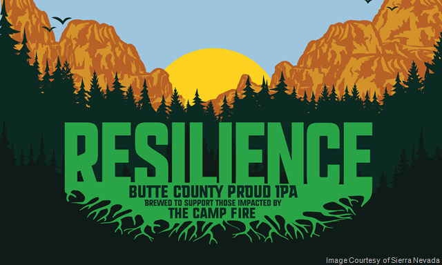 "Sierra Nevada:  Breweries Nationwide to host ""Resilience Night"" for Camp Fire Relief"