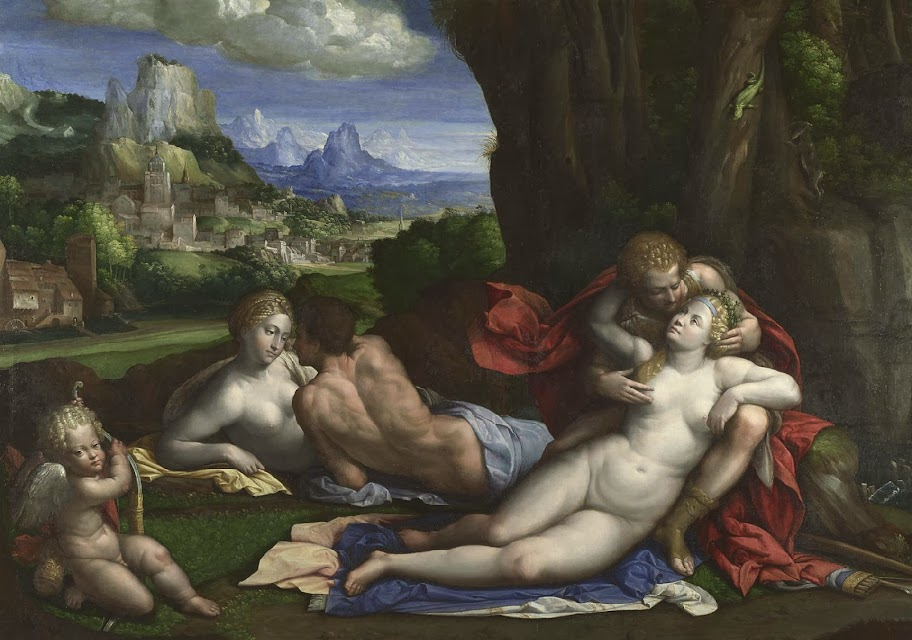 Garofalo - An Allegory of Love, ca. 1527-39