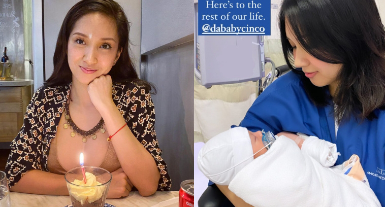 Roxanne Barcelo nanganak na, nagsilang ng isang malusog na Baby Boy