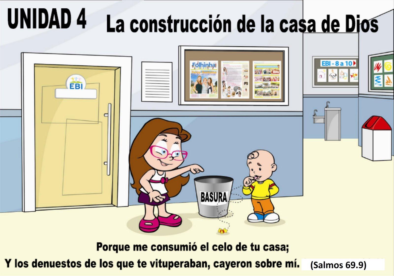 La construcción de la c asa de Dios. ~ EBI Mexico
