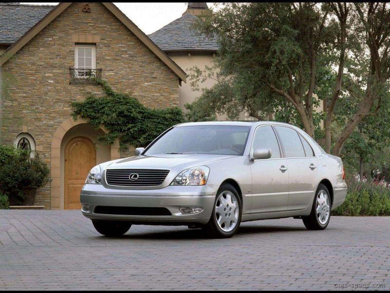 2001 Lexus Ls 430 Sedan Specifications  Pictures  Prices
