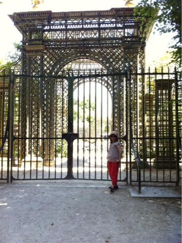 Jardin Versailles fermé