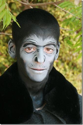 Maquillaje de gorila (12)
