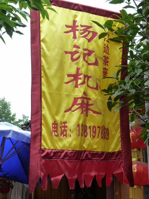 CHINE.SICHUAN.PING LE à 2 heures de Chengdu. Ravissant .Vallée des bambous - P1070519.JPG