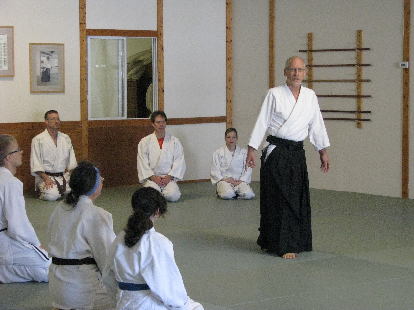 Katz Sensei Seminar Hosted by Toyoda Center Sunday May 22, 2011