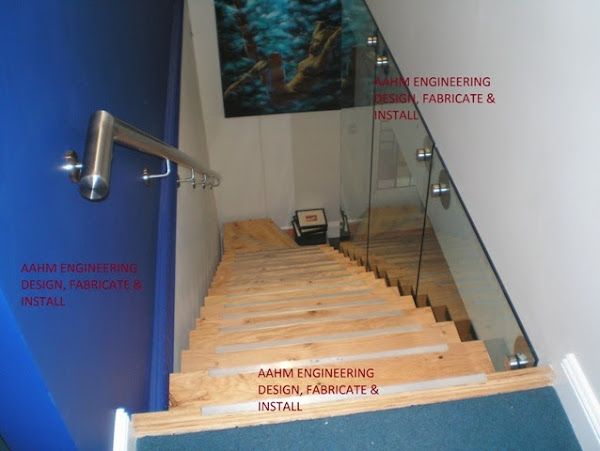 AAHM Balustrade and ENGINEERING Metal Fabrication- Pool