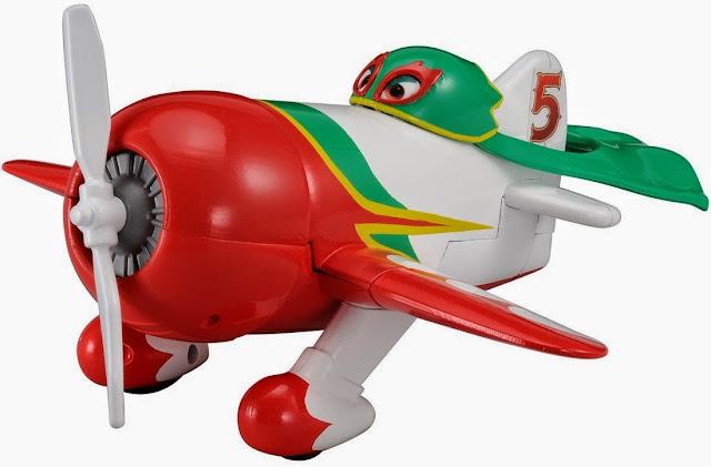 Mô hình máy bay El Chupacabra thật đẹp mắt đáng yêu