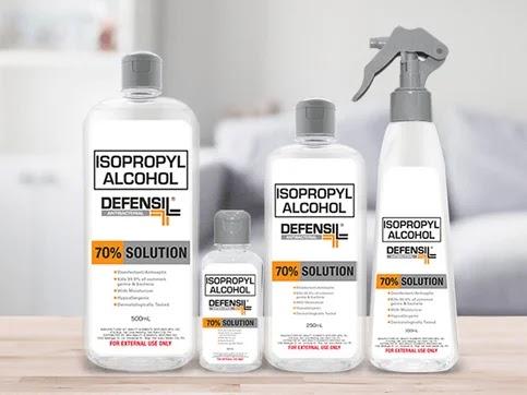 Defensil Isopropyl Alcohol variants