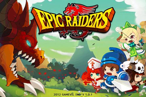手機APP:《Epic Raiders》Q版APRG史詩遊戲
