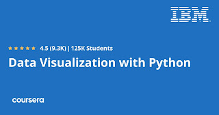 Free Coursera course to learn Data Visualization with Python
