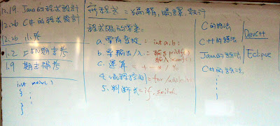 不同程式語言的基本語法