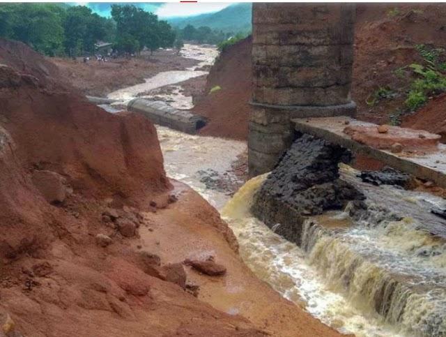 तिवरे बांध केकड़ों की वजह से टूटा,जल संरक्षण मंत्री तानाजी सावंत का बयान|