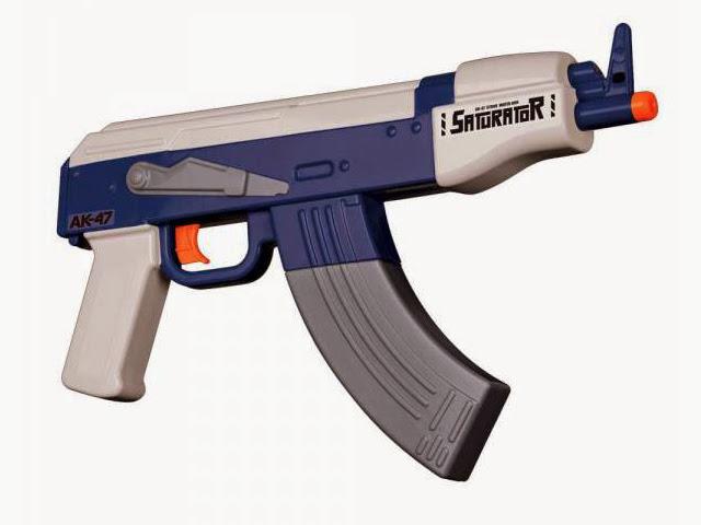 本気すぎる!電池式AK47型水鉄砲で敵を倒せ!