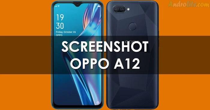 Screenshot Oppo A12