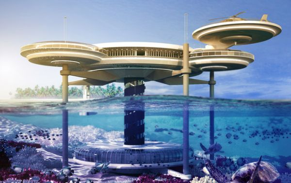 Hotel bajo el agua Dubai