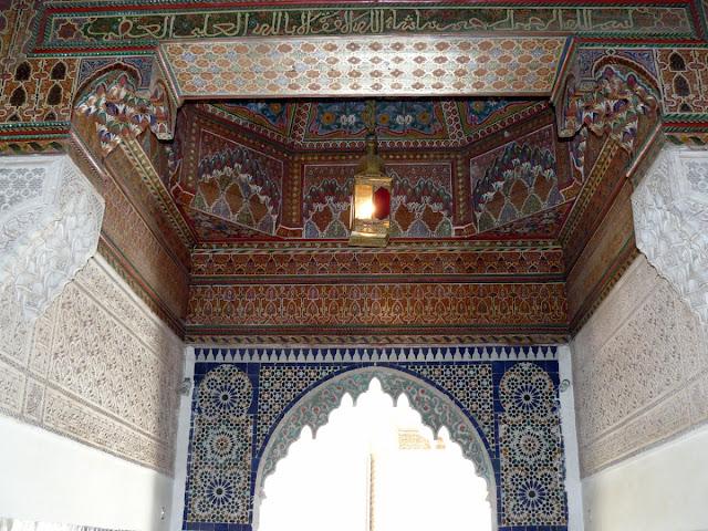 Marrakech, Palais de la Bahia