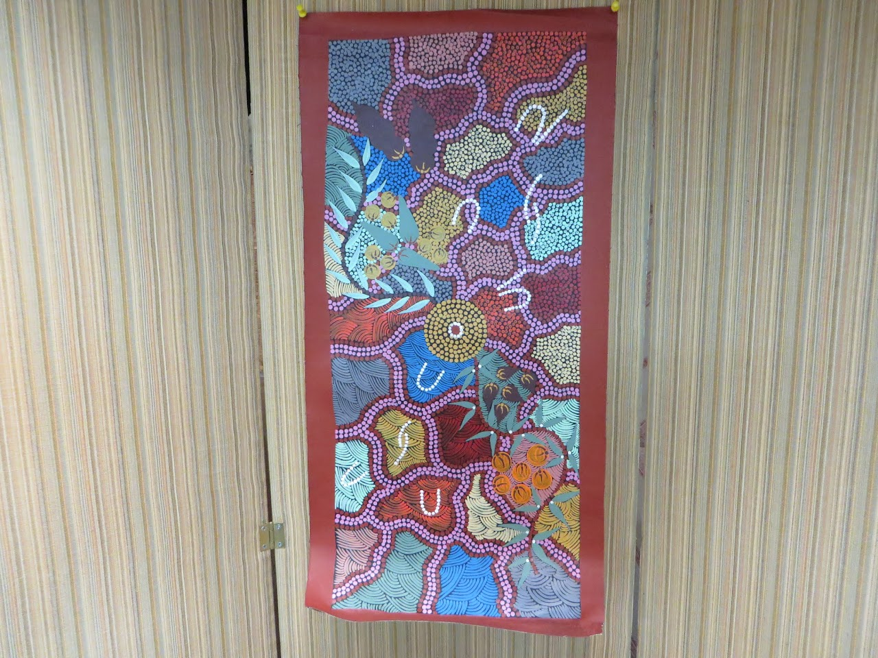Kitty Nabaljavi Aboriginal Painting
