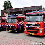 Brandweer Pekela steunt SamenLoop voor Hoop - Foto's Harry Wolterman