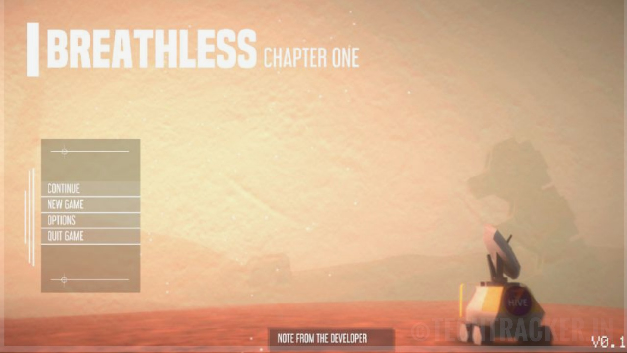 BREATHLESS - Survival game on Mars made by Indian developers for PC!
