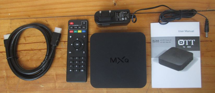 Android TV Box MXQ ราคาถูก เปลี่ยน ทีวีธรรมดา เป็นสมาร์ททีวีได้ในพริบตา เป็น smart tv
