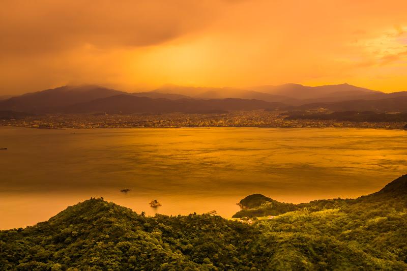 亀老山展望台 来島海峡 1