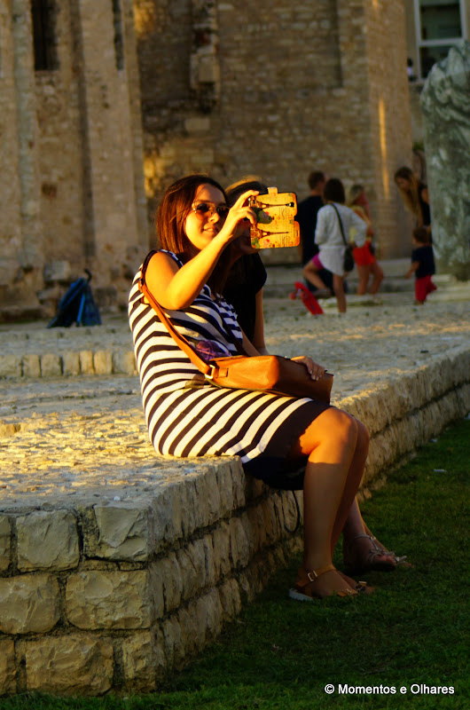 Zadar, Selfie