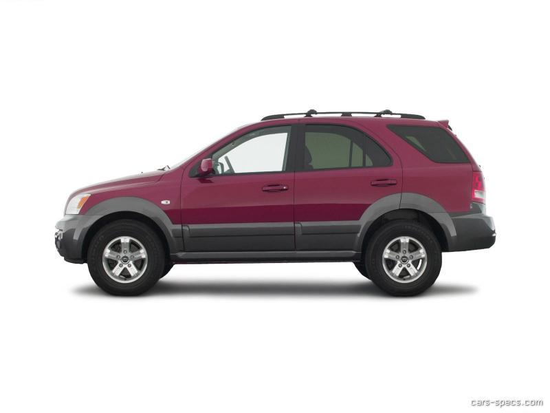 2004 kia sorento suv specifications pictures prices. Black Bedroom Furniture Sets. Home Design Ideas