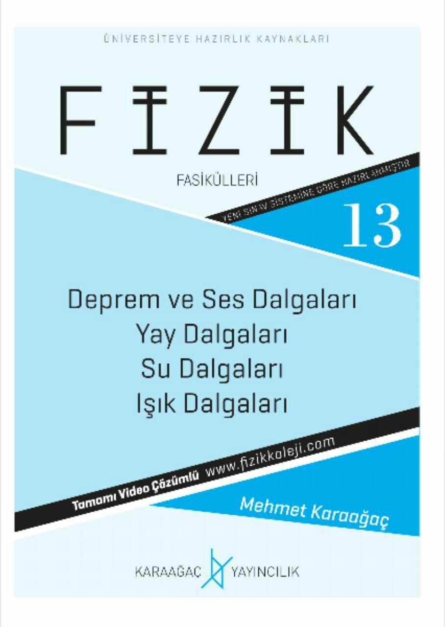 Karaağaç Yayınları YKS Fizik 13. Fasikül