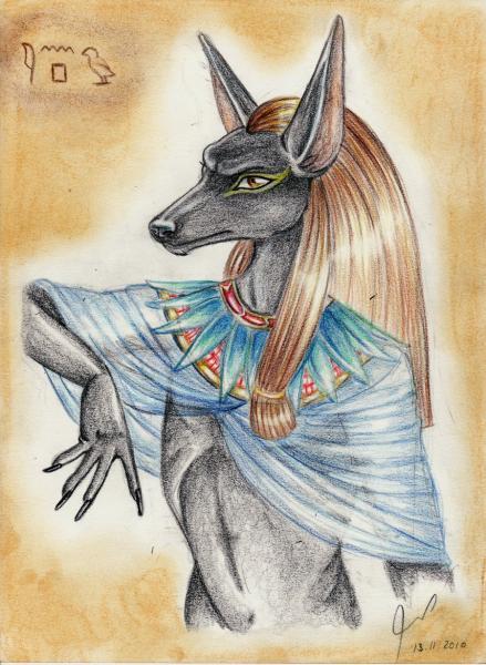 Egyptian God Anubis, Egyptian Magic