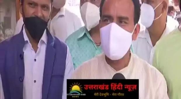 कम कोरोना जांच वाले जिलों में होगी कोरोना की शत प्रतिशत जांच: स्वास्थ्य मंत्री डॉ धन सिंह रावत   UTTARAKHAND NEWS TODAY