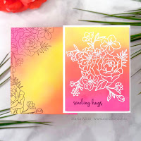 Cardbomb, Tonic Studios, Tonic Studios USA, Tonic Studios Stamp Club, #tonicstudiosstampclub, stamps, stamping, cards, card making, ink, paper, paper craft, watercolor, video tutorial, shaker cards, envelope art