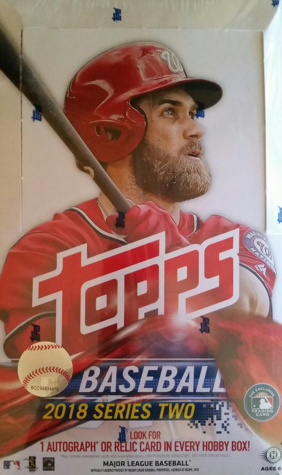 Sport Card Collectors Review2018 Topps Series 2 Baseball
