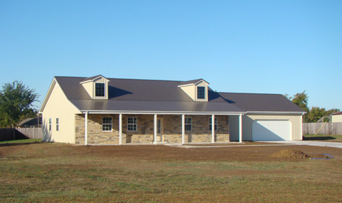 Project Galleries: Post Frame Homes