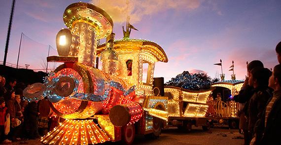 Cabalgata de Reyes 2016 en Las Rozas y Majadahonda