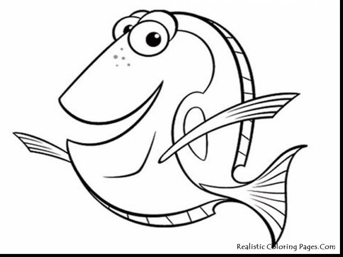 Best Hd Finding Nemo Bruce Coloring Pages Free