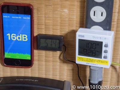デフォルト構成・BIOS:16dB・51.4°C・92.8W