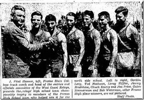 West Coast Relays Fresno Bee 5_24_1944
