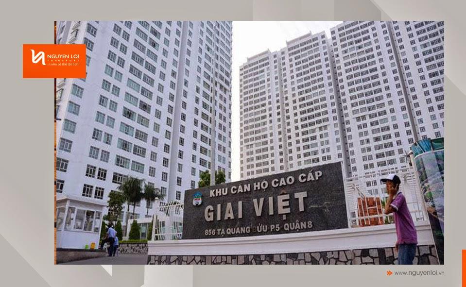 Chung cư Giai Việt - Quận 8