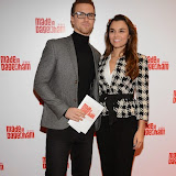 WWW.ENTSIMAGES.COM -   Richard Fleeshman  and  Samantha Barks   arriving at     Made In Dagenham - press night at Adelphi Theatre London November 5th 2014Comedy musical based on the hit British film.                                                  Photo Mobis Photos/OIC 0203 174 1069